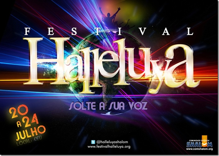 cartaz halleluya
