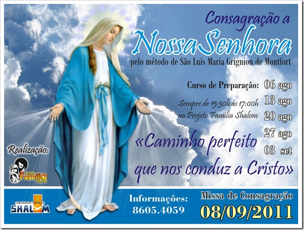 Consagração a NSra_Cartaz_2011