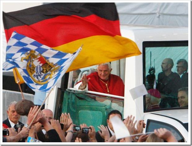 Bento XVI na Alemanha_antes da vigília