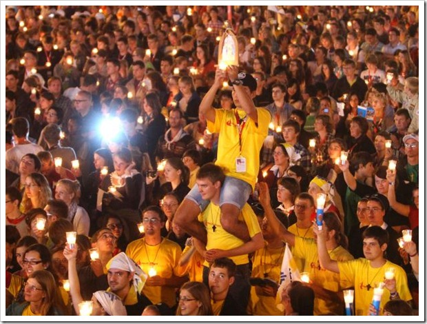 Bento XVI na Alemanha_vigília