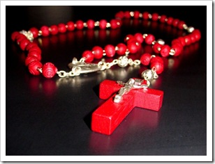 red-rosary-beads