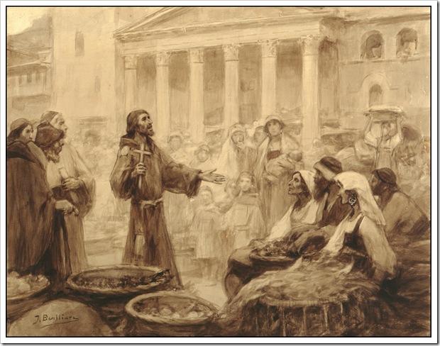 11-Francisco-predica-en-el-mercado-de-Asís