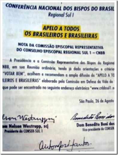 Panfleto-da-CNBB-Sul