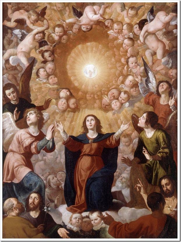 Santíssimo Sacramento (adoração à Eucaristia pelos Anjos e pelos Santos)