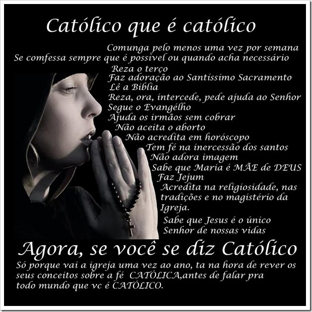 Verdadeiro católico