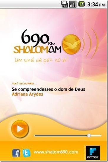 Aplicativo Shalom AM 690