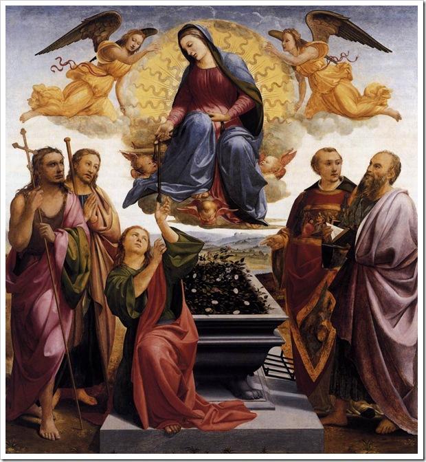 Assunção da Virgem Maria - Francesco Granacci