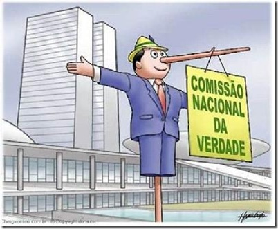 COMISSÃO DA VERDADE SÓ NO PAPEL